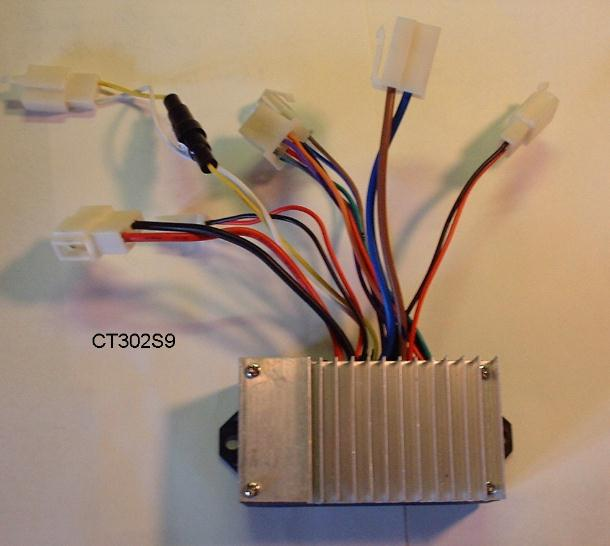 Zhonghui Micro Electronics Ct 302s9 24v Electric Scooter Controller
