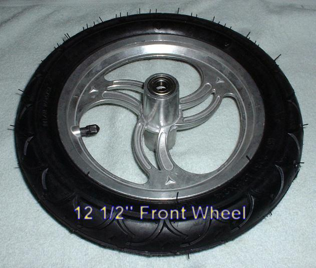 "12 1/2"" front wheel"
