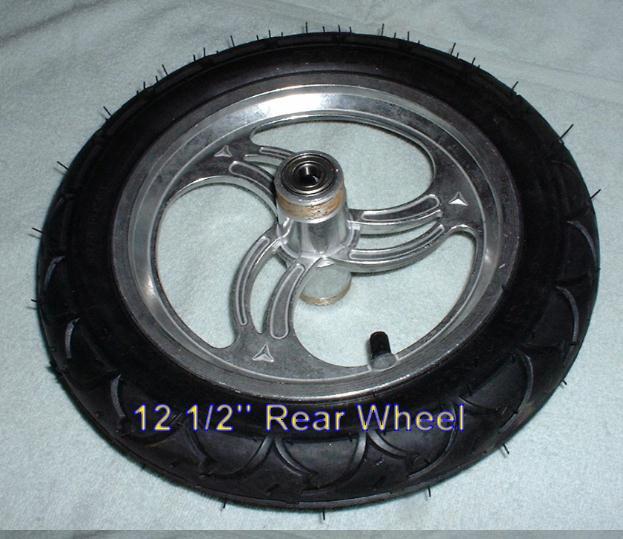 "12 1/2"" front wheel"