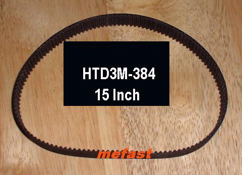 HTD3M-384 Belt Mefast