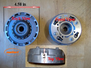 110cc Semi Auto Clutch