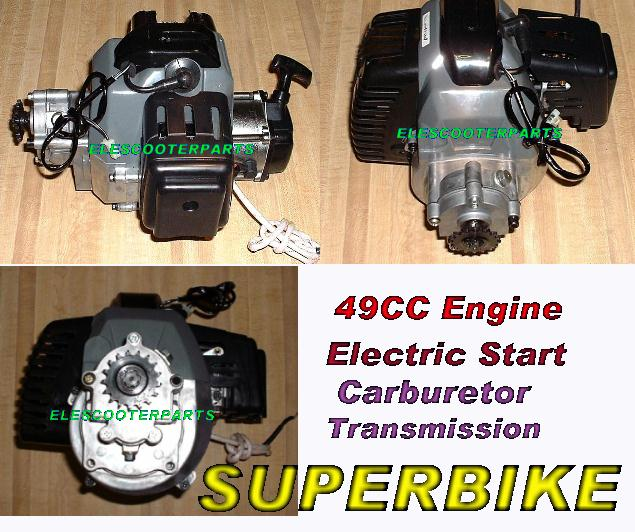 49cc Superbike Engine