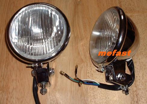 Soft Tail Chopper Headlight mefast