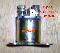 Hard mount solinoid