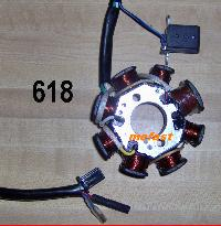 8 coil Stator