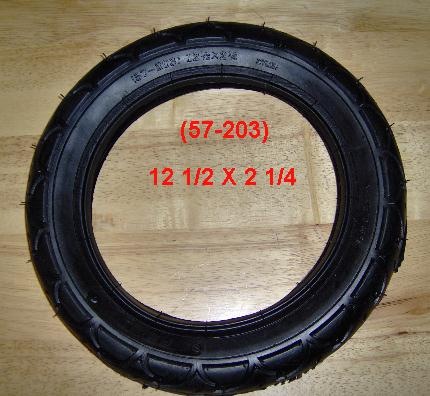 (57-208) 12 1/2  X 2 1/4 Electric Scooter Tire