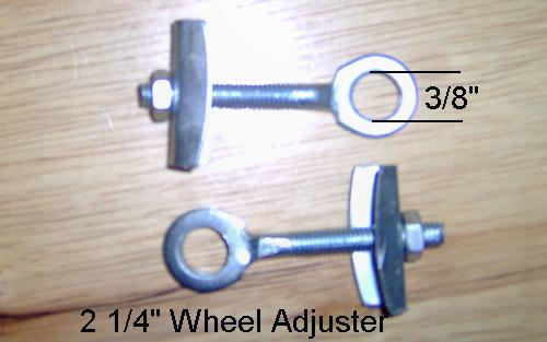 2 1/4 inch Wheel Adjuster