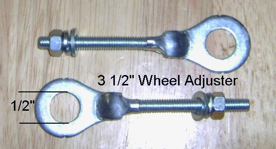 "3 1/2"" Wheel Adjuster"
