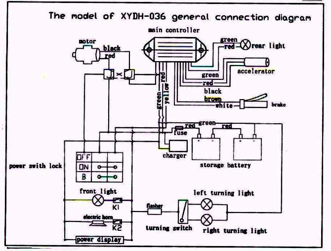 Service schematics gas and electric scooterstwo cyclefour cycle wire diagram asfbconference2016 Gallery