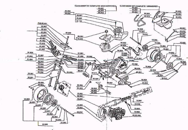 service schematics gas and electric scooters two cycle four cycle 50 engine · 50cc piston data
