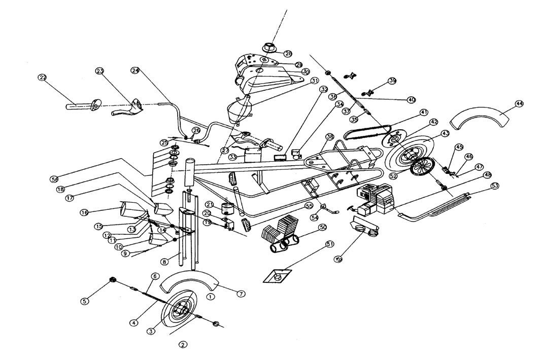 kazuma falcon 110 atv parts  wiring  wiring diagram images